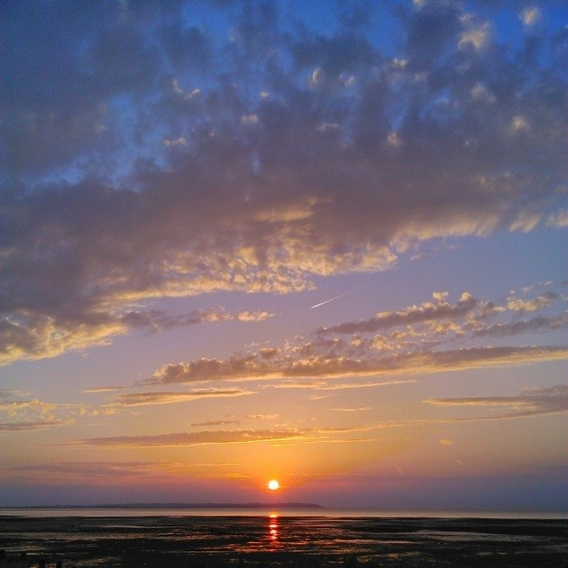 Sunset at Whitstable